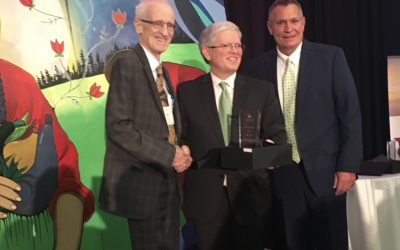John Curry honoured with OCSTA Trustee Award of Merit