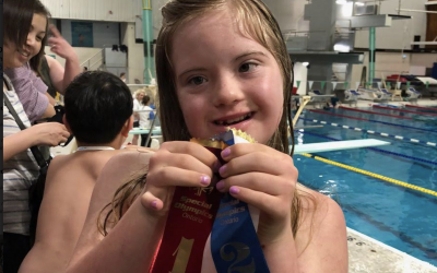 Ready, set, swim at the 17th Annual OCSB Special Olympics Swim Meet