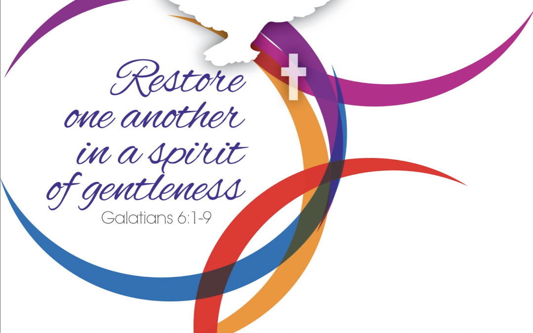 Restore one another in a spirit of gentleness