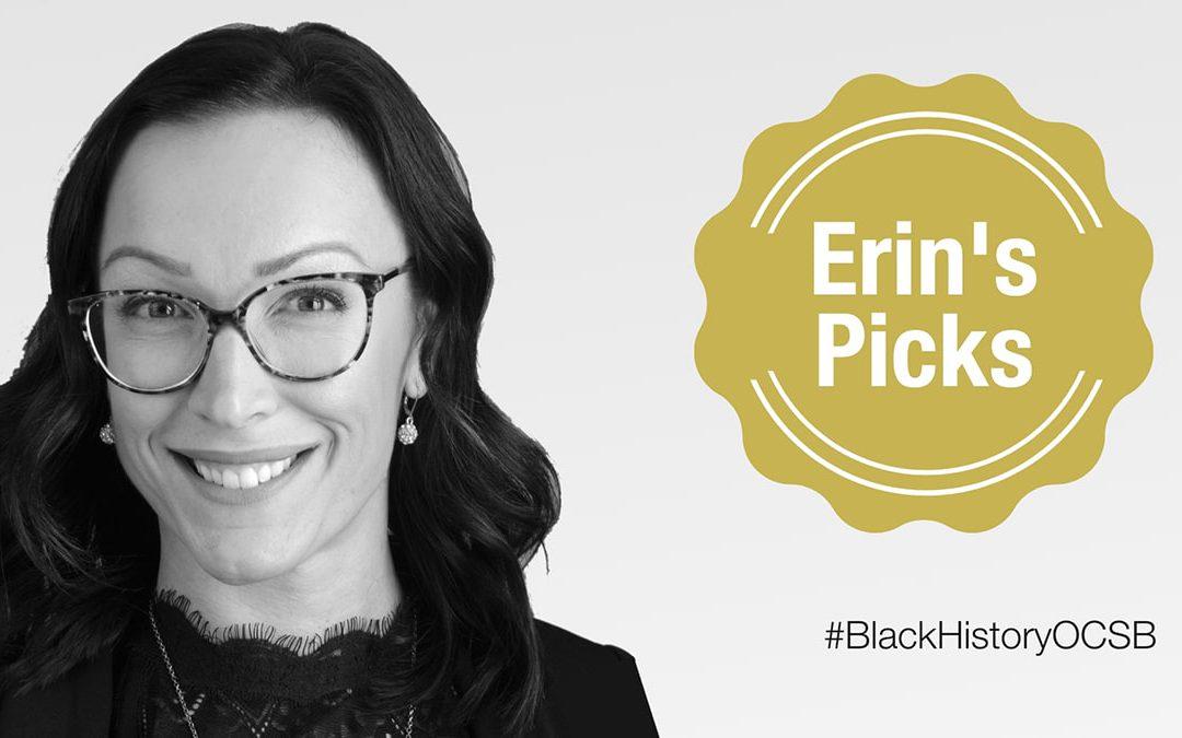 Erin's Picks for Black History Month