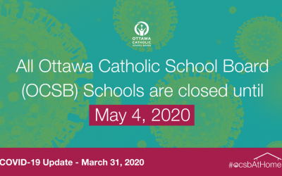 Ontario Schools Closed Until May 4, 2020