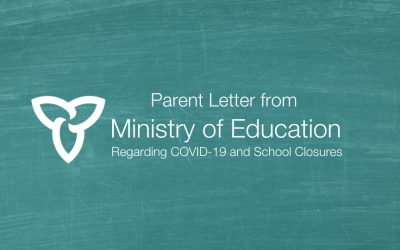 Parent Letter from the Ministry of Education