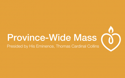 Province-wide Mass with Cardinal Collins