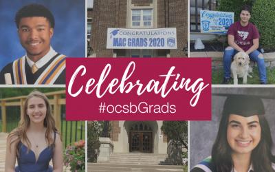 Celebrating #ocsbGrads