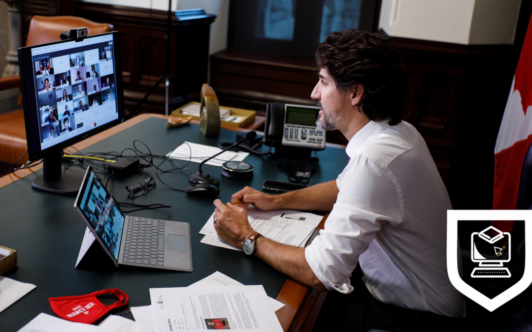 Virtual Academy class connects with Prime Minister Trudeau